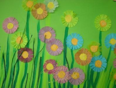 D tails for Decoration fenetre printemps maternelle